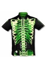 InknBurn INKnBURN Polo Shirt - Green X-Ray
