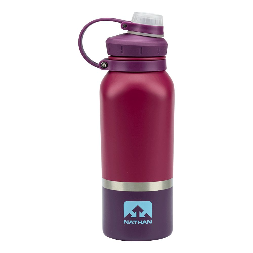 Nathan Sports NATHAN HammerHead Steel Insulated Bottle 24oz