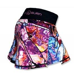 InknBurn INKnBURN Skirt - Stained Glass