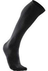2XU North America 2XU Compression Performance Run Sock (W) Black/Black (Size XS)