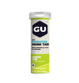 GU Energy Labs GU Hydration Drink Tabs Lemon Lime (Tube)