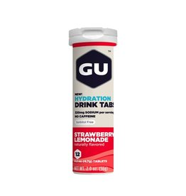 GU Energy Labs GU Hydration Drink Tabs Strawberry Lemonade (Tube)