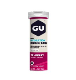 GU Energy Labs GU Hydration Drink Tabs Tri-Berry (Tube)