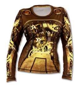 InknBurn INKnBURN LS Tech Shirt (W) - Steampunk S
