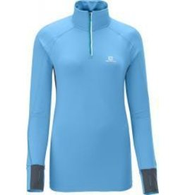 Salomon Salomon TRAIL RUNNER WARM LS ZIP TEE W