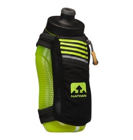 Nathan Sports NATHAN SpeedMax Plus  22oz - Black/Safety Yellow
