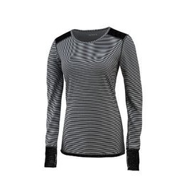 Saucony Saucony Swift Long Sleeve W Black/Heather Grey (Size Small)