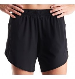 Oiselle Running, Inc Oiselle Long Flyout Shorts (W) Black (Size 4)