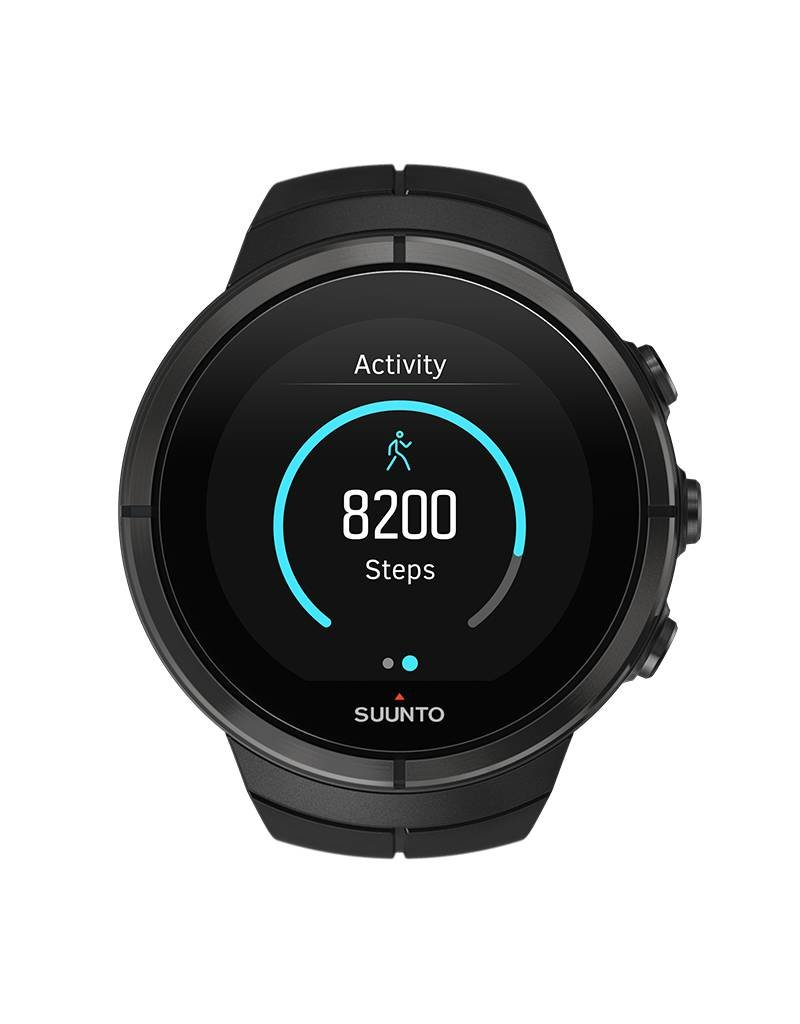 Suunto Spartan Ultra GPS Multifunction Watch - Black