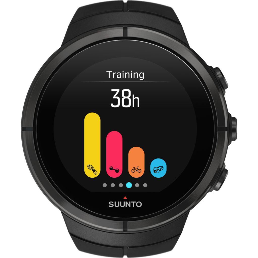 Suunto Spartan Ultra GPS Multifunction Watch - All Black Titanium
