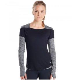 Oiselle Running, Inc Oiselle Nelle Long Sleeve Black (Size 10)