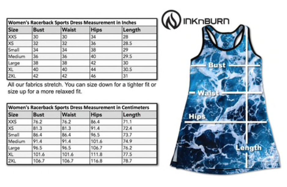 InknBurn INKnBURN Sports Dress - Lust