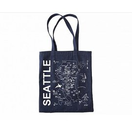 Maptote Seattle Denim Tote