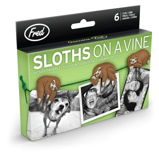 Fred Sloths On A Vine Picture Hangers