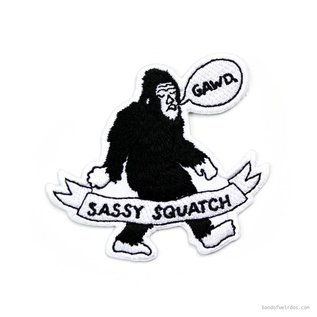 Band of Weirdos Sassy Squatch Patch