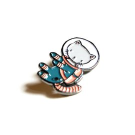 Stasia Burrington Space Kitty Pin