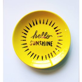 Waste Not Paper Sunshine Trinket Dish