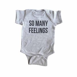 Sad Shop / Katie Davis So Many Feelings Onesie