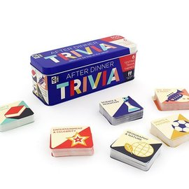 Ginger Fox After Dinner Trivia Tin