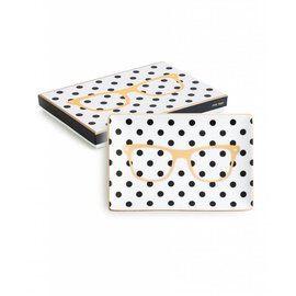 Rosanna Polka Dot Glasses Tray
