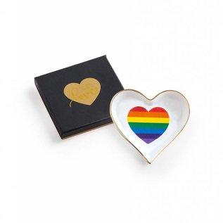 Rosanna Rainbow Heart Trinket Dish
