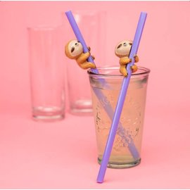 Paladone Sloth Straws