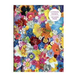 Chronicle Books Flowers PVC Cover Journal