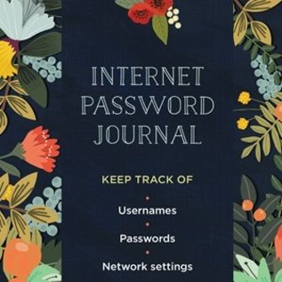 Quarto Group Internet Password Logbook Modern Floral