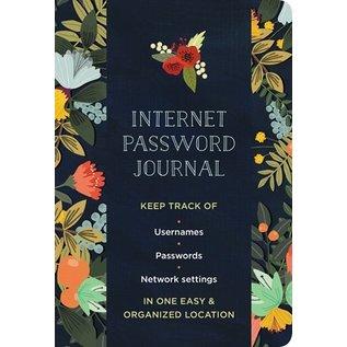 Quarto Group Internet Password Logbook Modern Floral