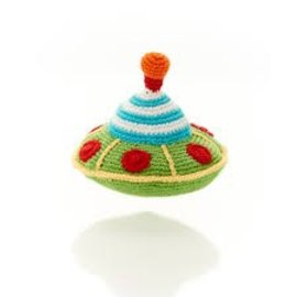 Kahiniwalla / Pebble Flying Saucer Rattle