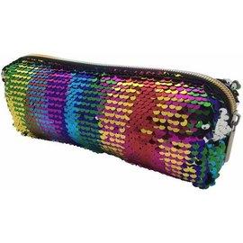 Streamline DNR Rainbow Sequin Pencil Bag