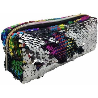 Streamline Rainbow Sequin Pencil Bag