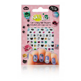 NPW (Worldwide) Crazy Cat Lady Nail Stickers