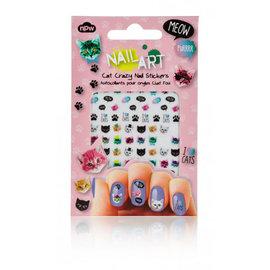 NPW (Worldwide) SALE Crazy Cat Lady Nail Stickers