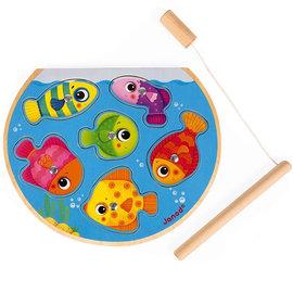Janod Toys Magnetic Fishing Puzzle