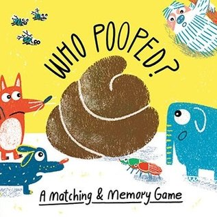 Chronicle Books Who Pooped? Matching Game
