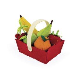 Janod Toys Felt Fruit Basket