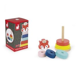Janod Toys Baby Forest Fox Stacker
