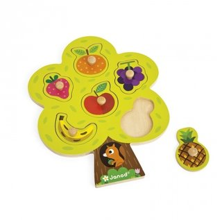 Janod Toys Fruit Tree Puzzle