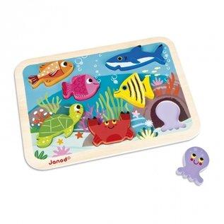 Janod Toys Marine Chunky Puzzle