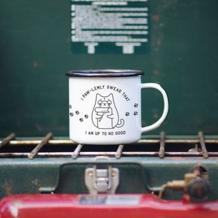 Enamel Co. Mischief Meownaged Enamel Mug