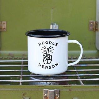 Enamel Co. People Person Enamel Mug