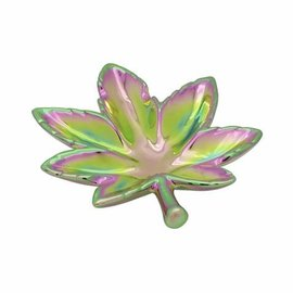 Streamline Pot Leaf Trinket Dish