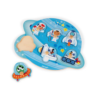 Janod Toys Happy Space Puzzle