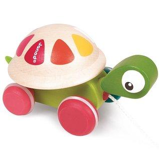 Janod Toys Zigolos Pull Along Turtle