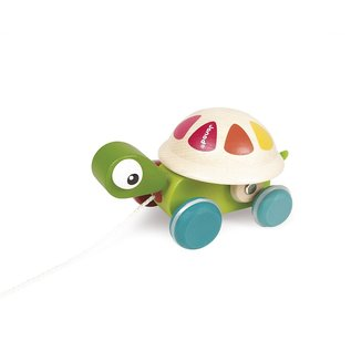 Janod Toys Zigolos Pull Along Turtle