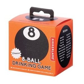 Kikkerland Design Inc 8-Ball Drinking Game