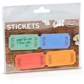 Fred DNR Stick-ets Sticky Notes