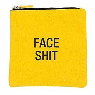 About Face  Face Shit Makeup Pouch