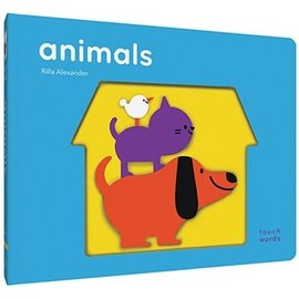 Chronicle Books DNR Touch Words: Animals